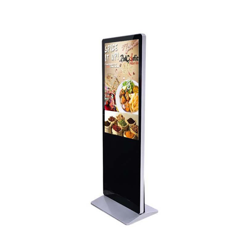 55 inch floor stand digital signage displays advertising lcd screens