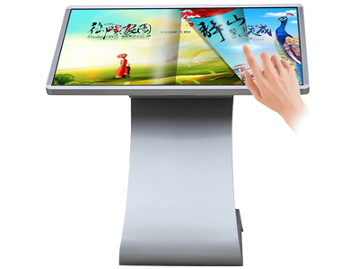42 inch free standing touch screen digital kiosk